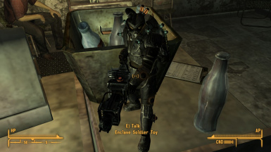 Armed next to nuka cola