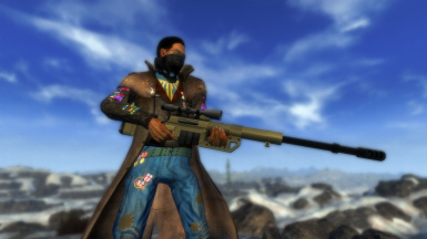 Cheytac M200 Intervention Sniper Rifle at Fallout New Vegas