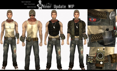 New Niner Outfits WIP