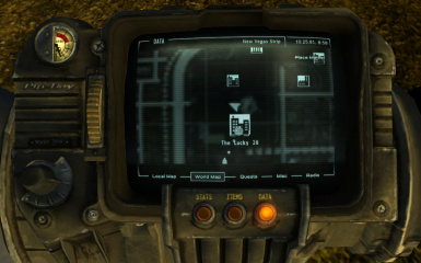 Fallout Las Vegas Map.The Lucky 38 Map Marker At Fallout New Vegas Mods And Community
