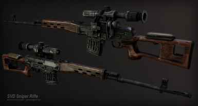 SVD sniper rifle v1_5