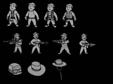 pipboy icons by Saxxon91