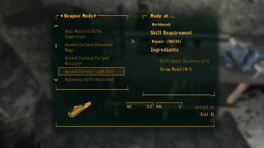 a small sample of the mod recipes