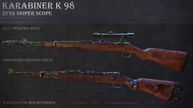 K98 German WWII rifle