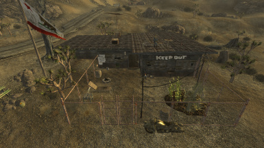 Goodsprings Safehouse Player Home - Fast travel