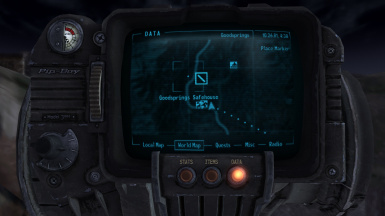 Goodsprings Safehouse Player Home Fast Travel At Fallout