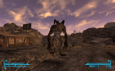 Deathclaw Alpha Male Companion