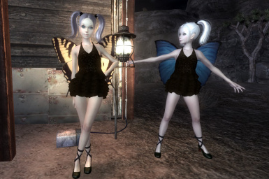C2O FLY MiniDress with Butterfly wing for Type3 Shojo