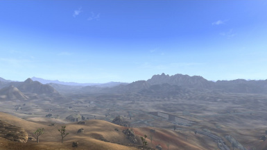 Early Morning Over the Mojave