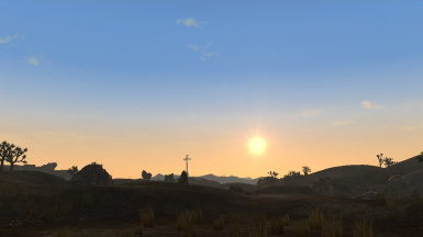 Daybreak in Goodsprings