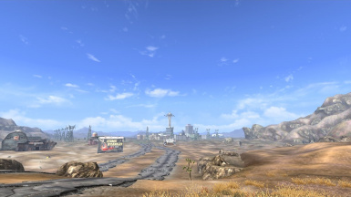 View of New Vegas