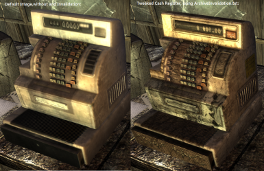 Tweaked Cash Register