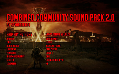 Combined Community Sound Pack V2 Logo