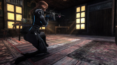 Black Widow Armor 2 Bnb And Nonbnb At Fallout New Vegas Mods And