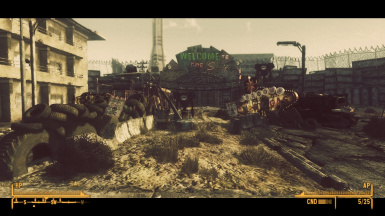 New Vegas post apocalyptic