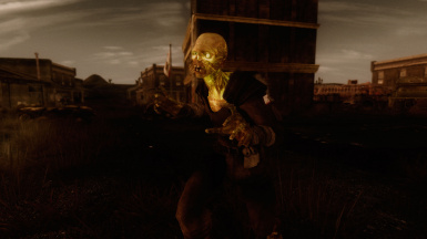 glowing one in NCR armor
