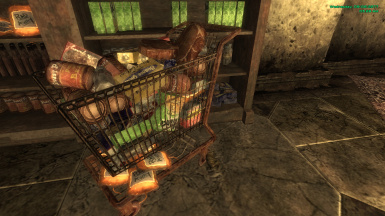 See how many items can fit in a shopping cart