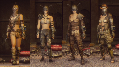 Wasteland clothing Hires retexture