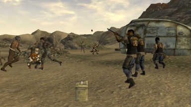 Factions Reloaded - Merge at Fallout New Vegas - mods and
