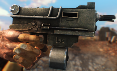 Classic 10mm Submachine Gun at Fallout New Vegas - mods and