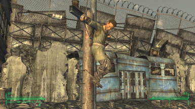 Thatmodteam Mick And Ralphs Kid Crucified At Fallout New Vegas