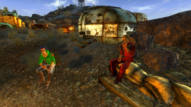 The Garbage Guru Free Store and Museum at Fallout New Vegas