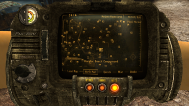 Location Pip Boy
