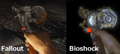 Comparison - My Mod vs Bioshock