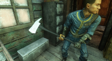 Fire Axe Replacer At Fallout New Vegas Mods And Community