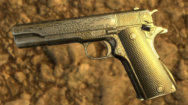 Millenia Colt 1911 Engraved