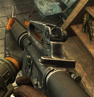 Colt M16A2 at Fallout New Vegas - mods and community
