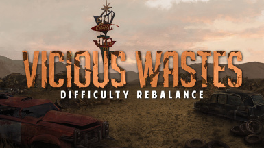 Vicious Wastes - Difficulty Rebalance