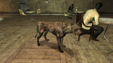 dog fallout new vegas