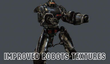 Improved Robots Textures