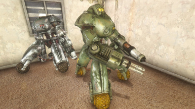 Sentry Bot in game 03