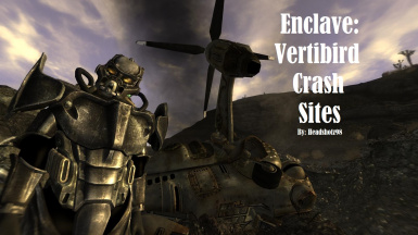 Enclave - Vertibird Crash Sites