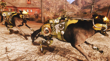 Military Robodog in game 01