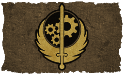 Brotherhood of Steel Flag Redux in v1-1