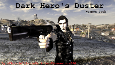 Dark Hero's Duster - Weapon Pack and Quest
