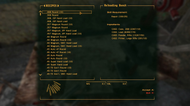 10x Faster Vanilla Bulk Ammo Crafting Breakdown and Conversion Recipes
