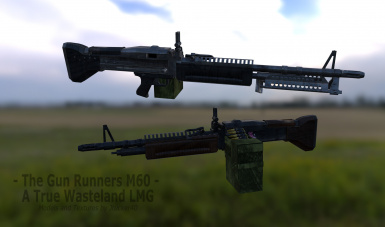 The Gun Runners M60 - A True Wasteland LMG