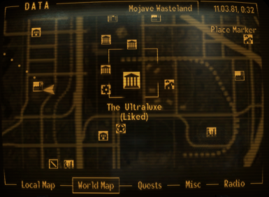 Convenient Fast Travel Markers at Fallout New Vegas - mods ...