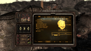 Rock-It Launcher (Mister Chipper) at Fallout New Vegas ... on