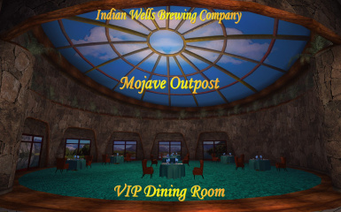 Mojave Outpost VIP Dining Room 001