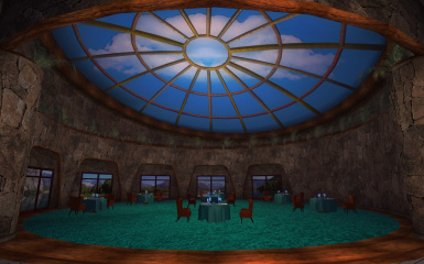 Mojave Outpost VIP Dining Room 004