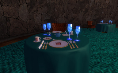 VIP Dining Room Place setting 02