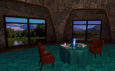 VIP Dining Room Place setting 06