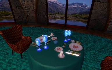 VIP Dining Room Place setting 07