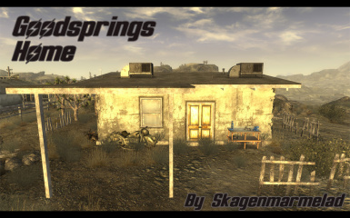 Goodsprings player home - Lore Friendly