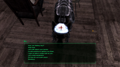 Now Rex can look at player during conversation
